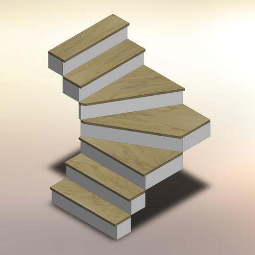 Poplar Winder Treads