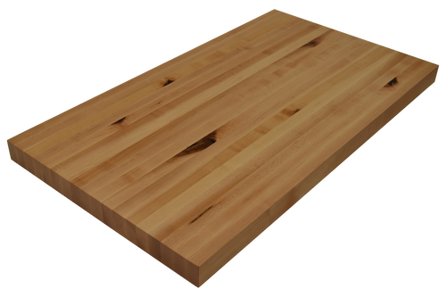 Rustic Maple Edge Grain Butcher Block Countertop