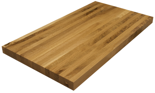 Live Sawn White Oak Edge Grain Counter Top