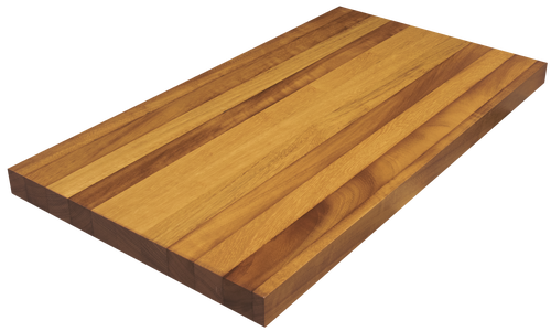 Burmese Teak Edge Grain Counter Top