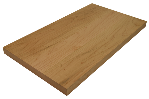 Curly Maple Wide Plank (Face Grain) Countertops