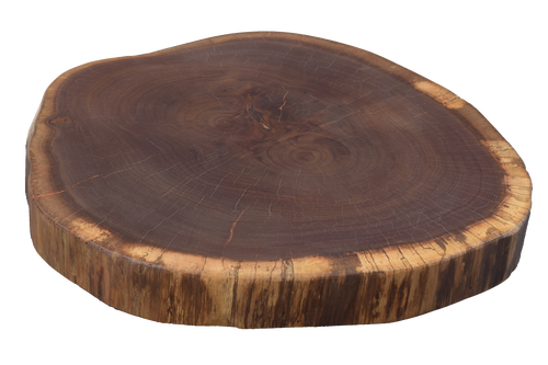 Walnut Live Edge Round #471
