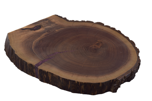 Walnut Live Edge Round #473