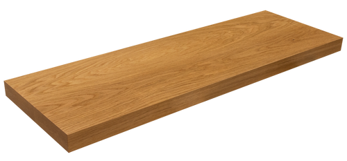 White Oak Floating Shelf WP