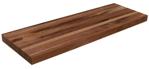 Rustic Walnut Floating Shelf EG