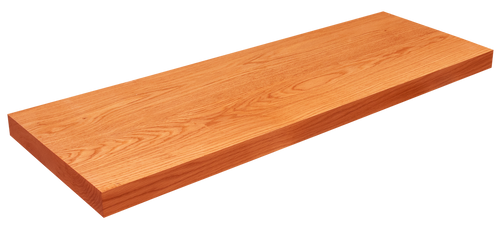 Red Oak Floating Shelf WP