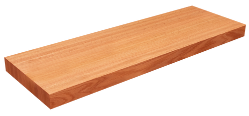 Red Oak Floating Shelf EG