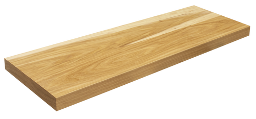Hickory Floating Shelf WP