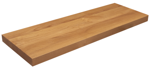 Clear Alder Floating Shelf WP