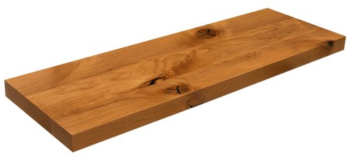 Knotty Alder Floating Shelf WP