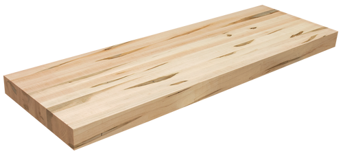 Wormy Maple Floating Shelf EG