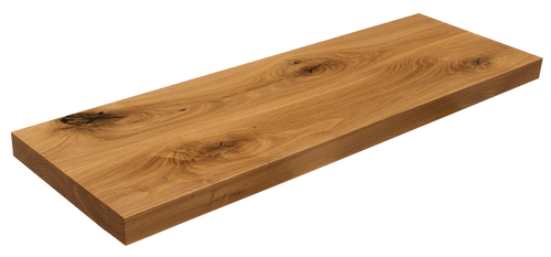 Live Sawn White Oak Floating Shelf WP