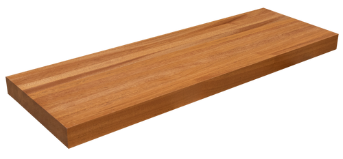 African Mahogany Floating Shelf EG