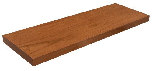 Brazilian Cherry Floating Shelf WP