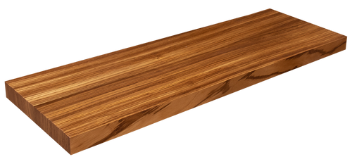 Zebrawood Floating Shelf WP