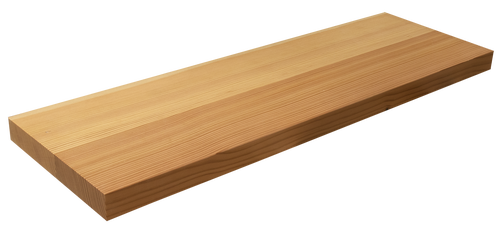 Douglas Fir Floating Shelf WP