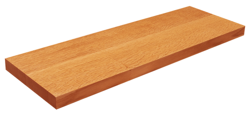 Quarter Sawn Red Oak Floating Shelf WP