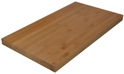 Clear Alder Edge Grain Butcher Block Countertop.