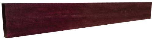 Purpleheart Backsplash