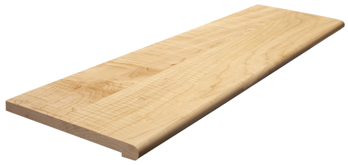 Curly Maple Retro-Fit Stair Tread