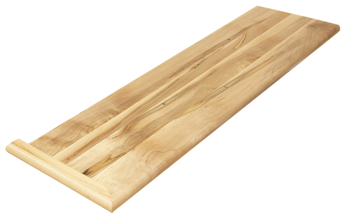 Wormy Maple Stair Tread