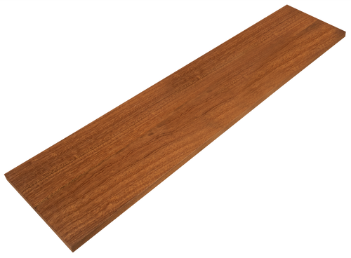 African Mahogany Stair Riser