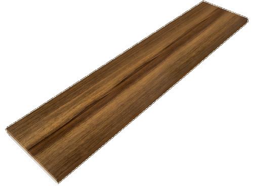 Black Limba Stair Riser