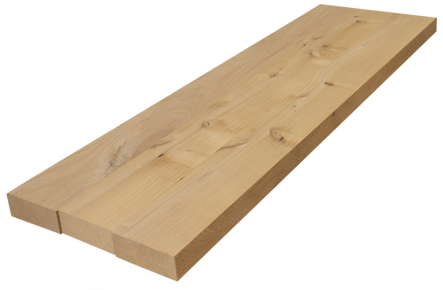Knotty Alder (Wide Plank) Floating Shelf #741