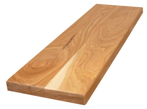 """Hickory Wide Plank Floating Stair Tread #891 (1.5""""-10""""-36"""")"""