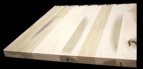 "Poplar Wide Plank (Face Grain) Countertop #907 (1.75""-33""-33"")"