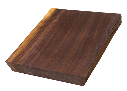 "Walnut Live Edge Cutting Board #125 (1.25""-10""-12"")"