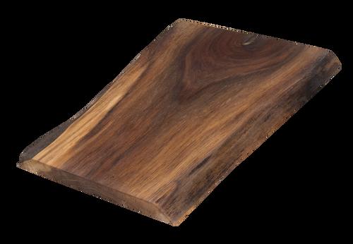 "Walnut Live Edge Cutting Board #129 (1""-10.25""-12"")"