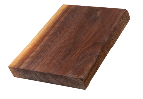 "Walnut Live Edge Cutting Board #131 (1.25""-8.5""-12"")"