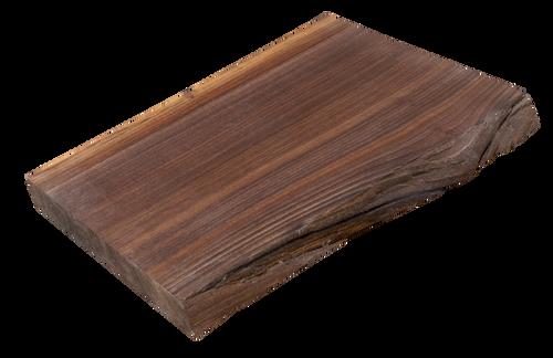"Walnut Live Edge Cutting Board #132 (1.25""-11.25""-14.5"")"