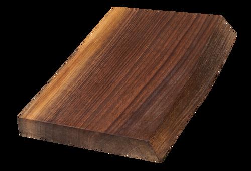 "Walnut Live Edge Cutting Board #133 (1.25""-8.75""-12"")"