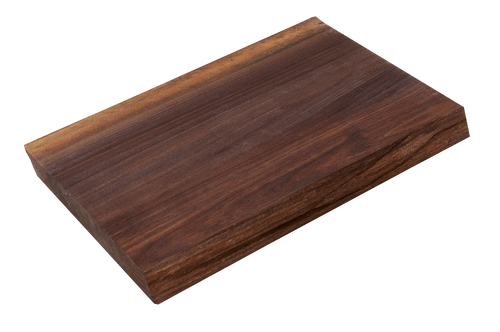 "Walnut Live Edge Cutting Board #135 (1.25""-10.25""-13"")"