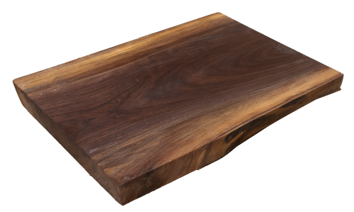 "Walnut Live Edge Cutting Board #158 (1.75""-13""-16"")"