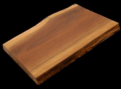 "Walnut Live Edge Cutting Board #170 (1.25""-12.75""-17.75"")"