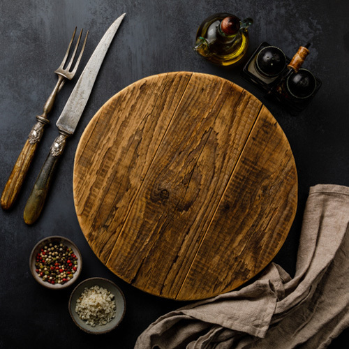 Round Style Cutting Boards
