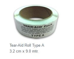 Tear Aid Repair Roll - Type A - (3.2cm x 9m)