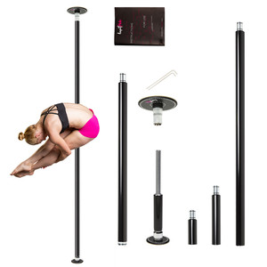 Lupit Pole Black Powder Coated Diamond G2 (1)