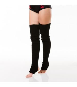 Black Acrylic Leg Warmers 1