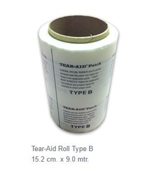 Tear Aid Repair Roll - Type B 15.2cm x 9m