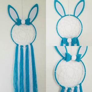Blue Bunny Dreamcatcher