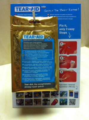 Tear Aid Type A Quick Repair Kit