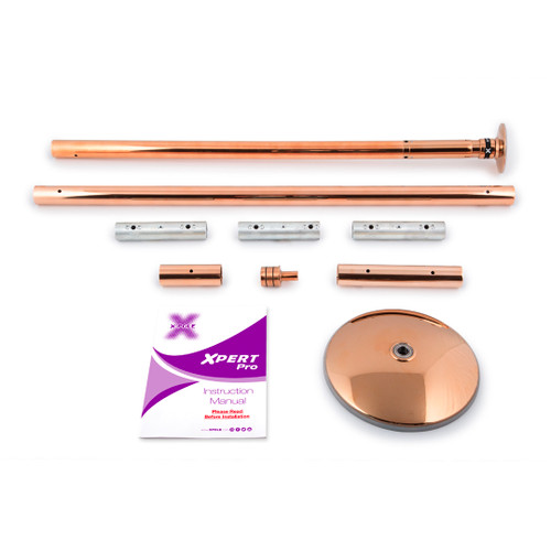 X-Pert Pro Vertical Exercise Pole - Brass 1