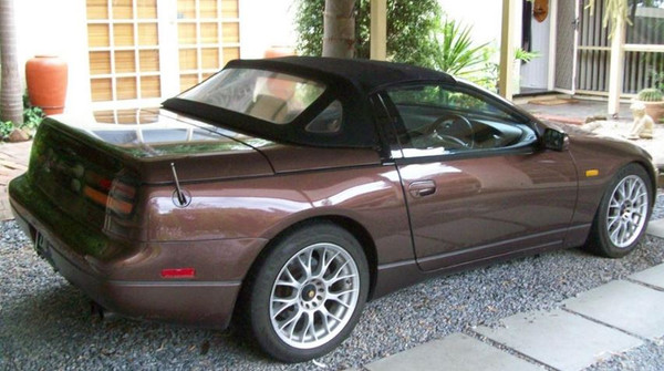 Nissan 300ZX Convertible with Canvas Roof Repairs