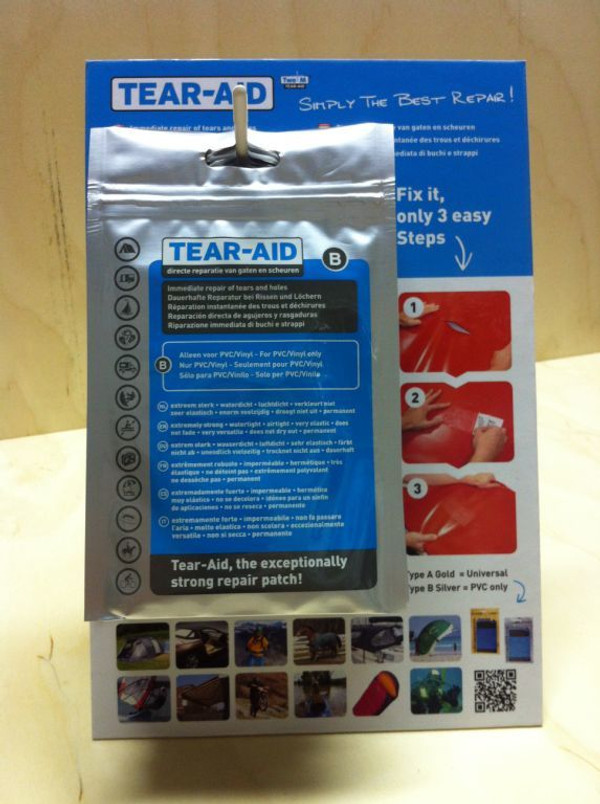 Tear Aid Type B Quick Repair Kit