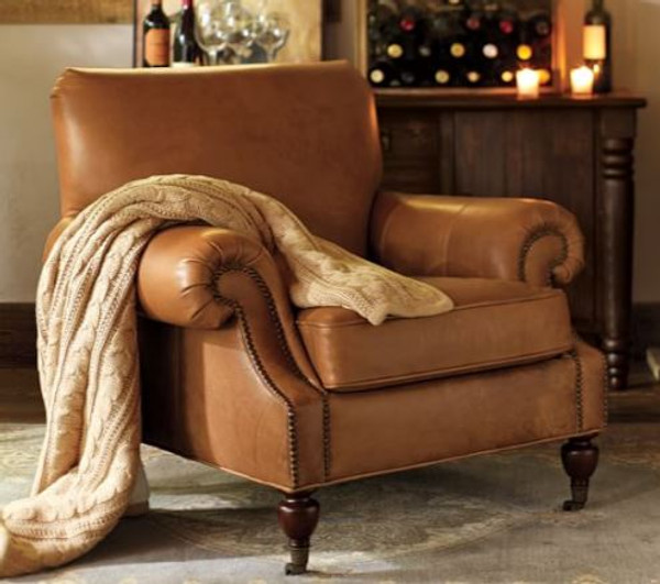 Tan Leather Arm Chair Repairs