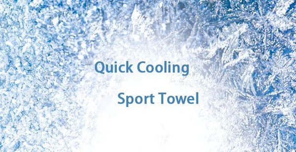 Quick Cooling Sport Towel Banner